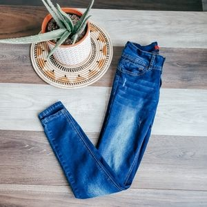 Wax jeans high waist